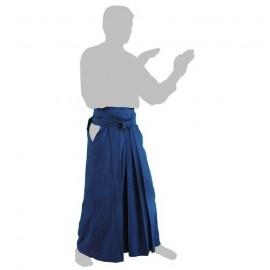 Hakama bleu coton
