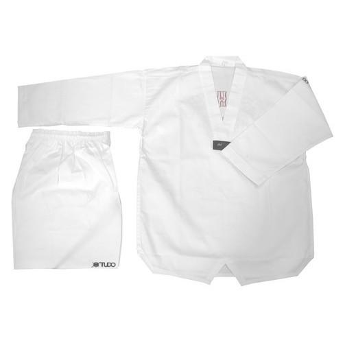 Dobok Taekwondo Jung Kup col blanc