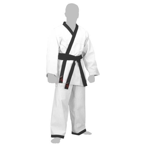 Dobok Hapkido blanc col noir ''Expert'' FUJI MAE