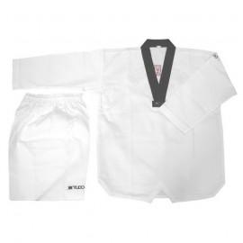 Dobok Taekwondo Jung Kup col noir