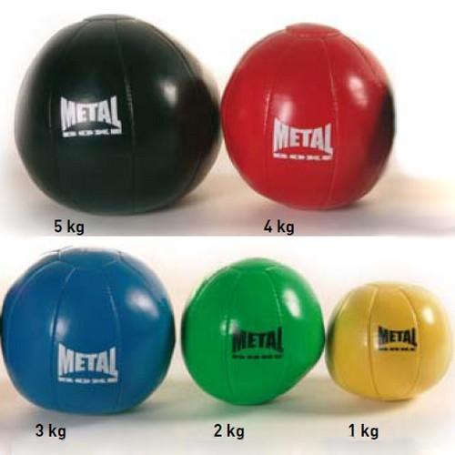 Medecine Ball Métal boxe 1 à 5kg