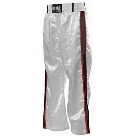Pantalon de Full Contact Blanc 2 bandes METAL BOXE