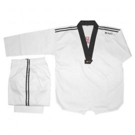 Dobok Taekwondo Pa Lam col noir