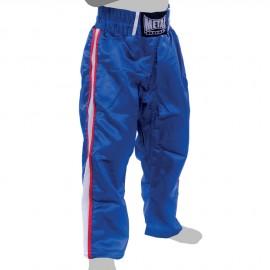 Pantalon de Full Contact bleu 2 bandes METAL BOXE