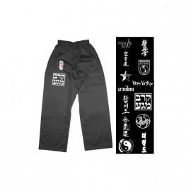Pantalon coton FUJI MAE NOIR par discipline