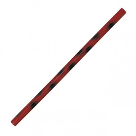 Baton de Kali 66 cm Rouge et Noir vernis