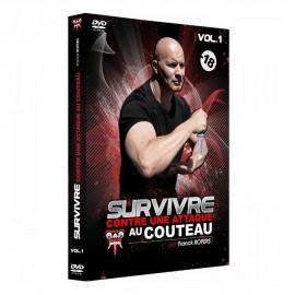 DVD Survivre contre une attaque au couteau Vol.1