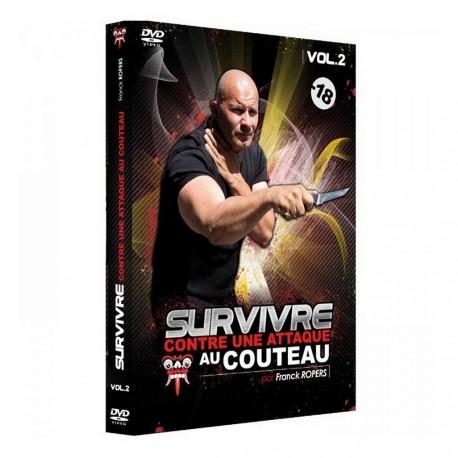 DVD Survivre contre une attaque au couteau Vol.2