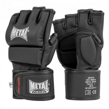 Mitaines Combat Libre Black Light METAL BOXE