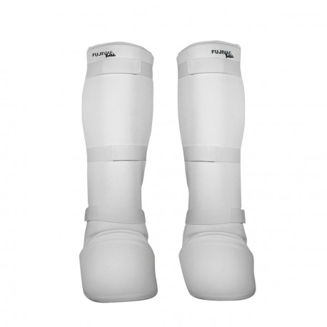 Protège tibia-pied blanc FUJI MAE