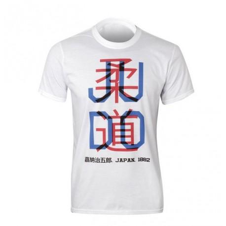 Tee Shirt Judo avec kanji