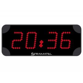 Chronomètre Horloge HC9.4 rouge