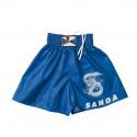 Short sanda bleu