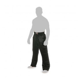 Pantalon Full Contact tout noir satin Adulte