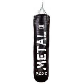 sac de frappe cuir heracles metal boxe