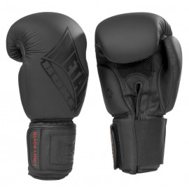 Gants Boxe Black Light Curtex mat METAL BOXE