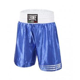 Short de boxe anglaise LEONE bleu