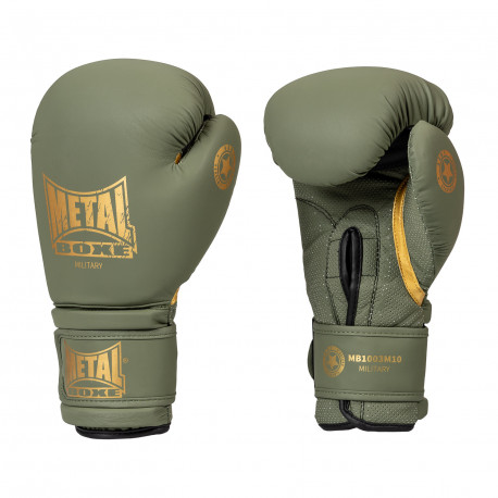 Gants de boxe military metal boxe