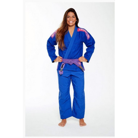 Kimono JJB ATAMA ULTRA LIGHT 2.0 femmes bleu