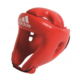 Casque multi-boxe initiation Adidas rouge