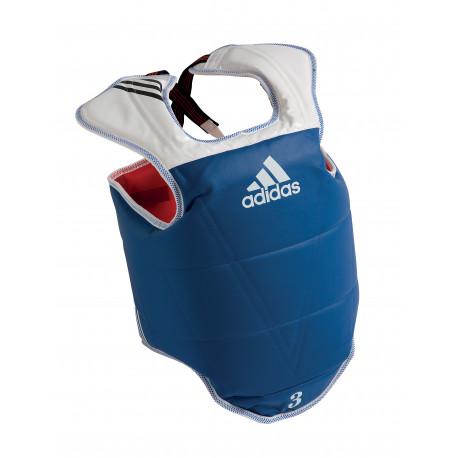 Plastron réversible Adidas adulte bleu