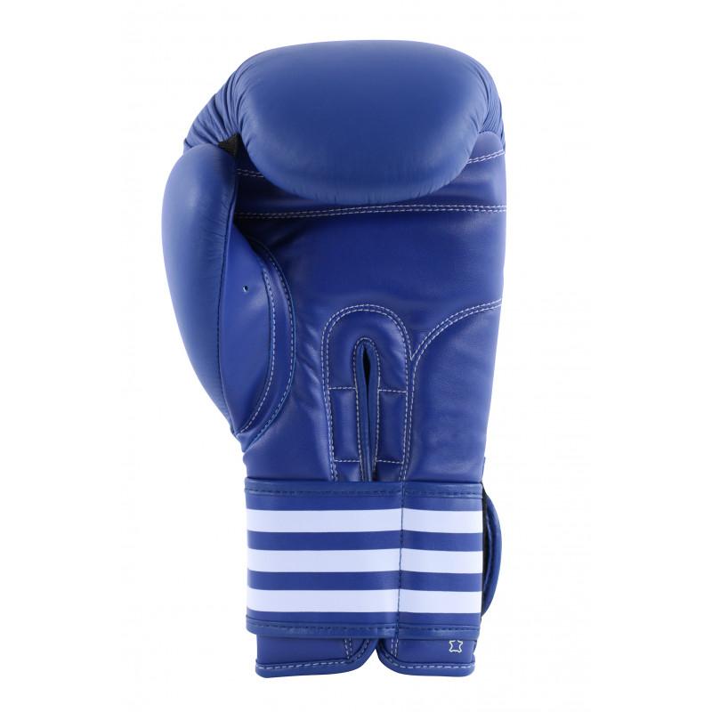 gants de boxe pro cuir adidas bleu ou rouge. Black Bedroom Furniture Sets. Home Design Ideas