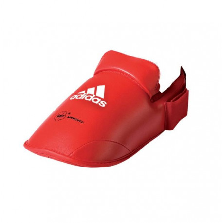 protege pieds rouge