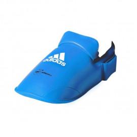 protege pieds bleu