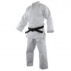 Kimono judo ADIDAS millenium à bandes or