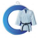 Médaille acrylique arts martiaux