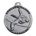 Médaille frappée judo or/argent/bronze économique