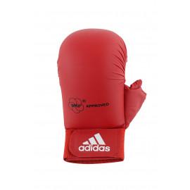 Mitaines / Gants Karate adidas WKF avec pouce rouge  ADIDAS