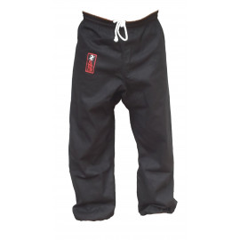 Pantalon noir bas serré Furacao
