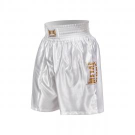 Short de boxe anglaise Proline Métal boxe - blanc