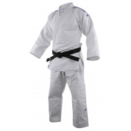 Kimono judo ADIDAS millenium à bandes bleu blanc rouge