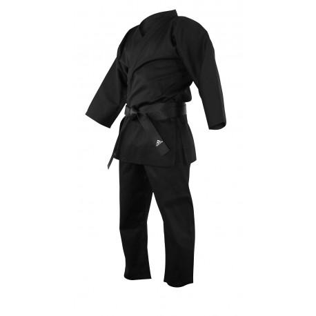 Kimono de karaté bushido noir Adidas