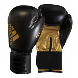 Gants de boxe Adidas Hybrid 50 noir et or