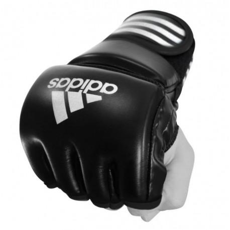 Gants / mitaines MMA PU adidas noir/blanc