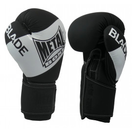 Gants de boxe Blade Black and White métal boxe