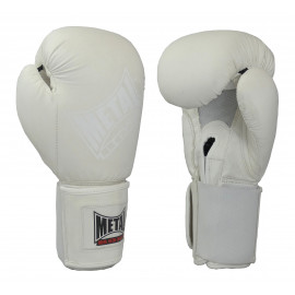 Gants de boxe white light métal boxe