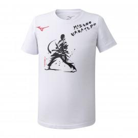 Tee Shirt mizuno karaté blanc