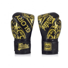 Gants de boxe noir Glory Fairtex
