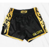 Short Boxe Thaï Glory noir/or Fairtex