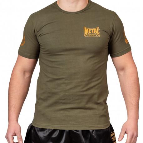 Tee-shirt Military Métal Boxe - vue face
