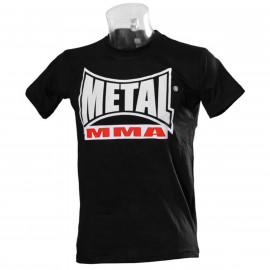 Tee-Shirt MMA noire Métal Boxe