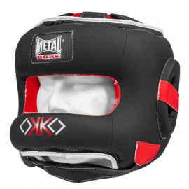 Casque intégral à barre OKO Métal Boxe