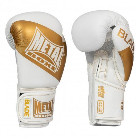Gants de boxe Blade métal boxe gold