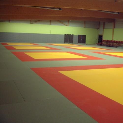 Tatami Judo coton avec antidérapant