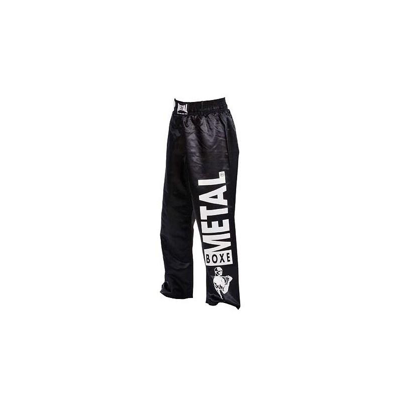 Pantalon Full Contact visual Metal Boxe Blanc, 170 Metal Boxe