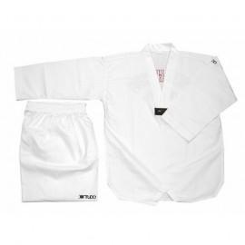 Dobok Taekwondo Cho Kup col blanc